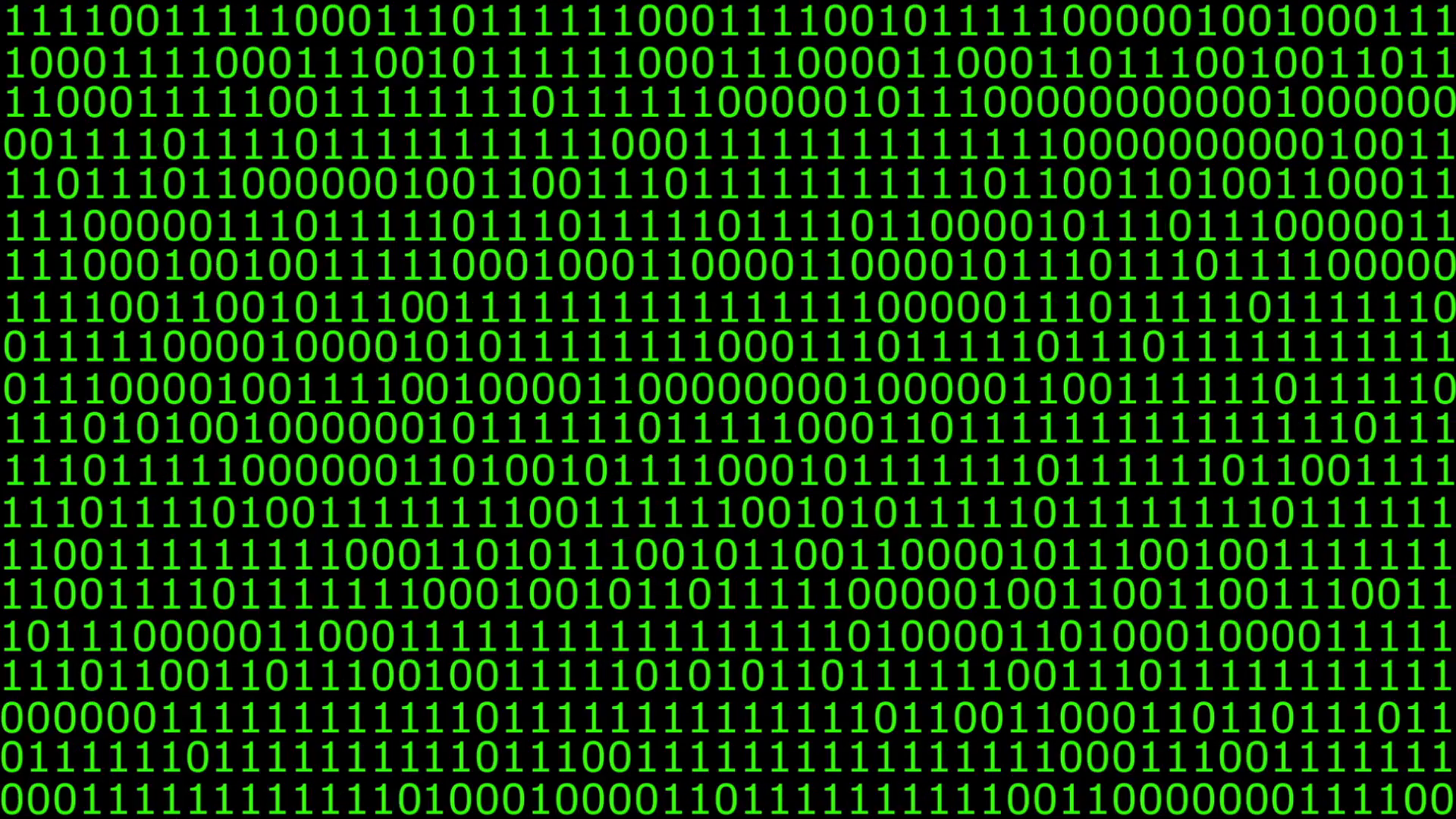 HD animation of a solid wall of binary code Motion Background - VideoBlocks - Binary Code PNG