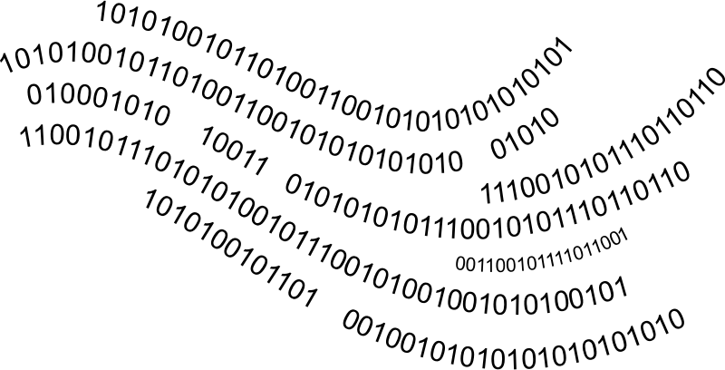 MEDIUM IMAGE (PNG) PlusPng.com  - Binary Code PNG