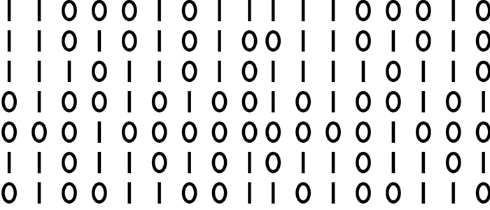 spiral binary code radial from central point in black writing on white  background | Imatges Geometria | Pinterest | Photoshop, Illustrators and  Artist - Binary Code PNG