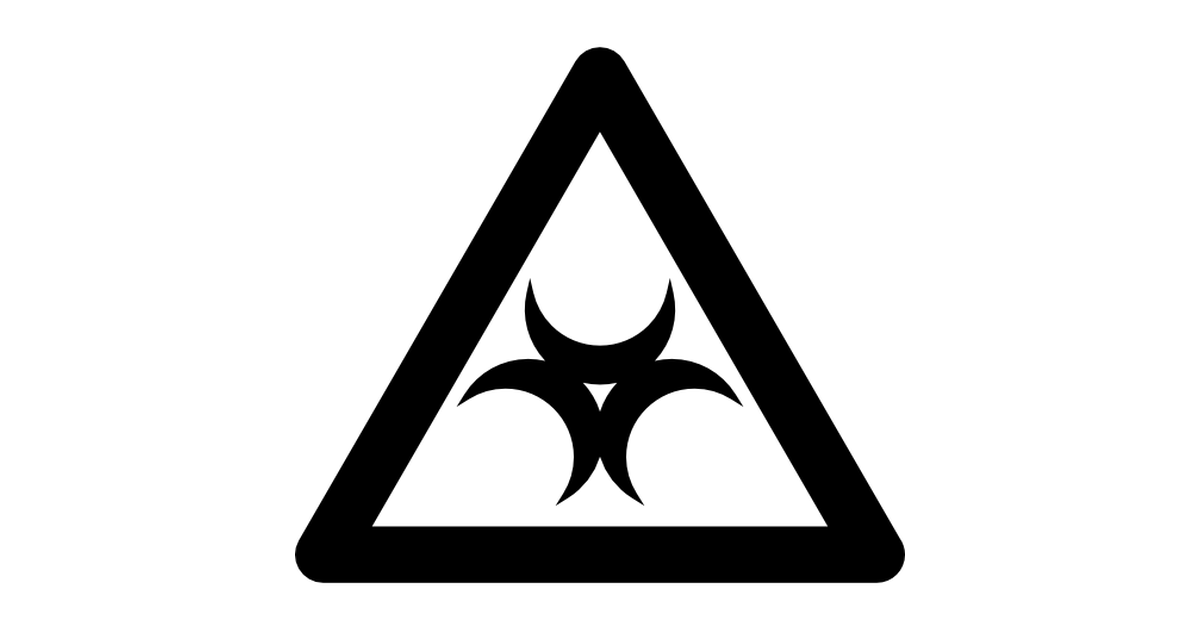 Biohazard Symbol PNG - 8700