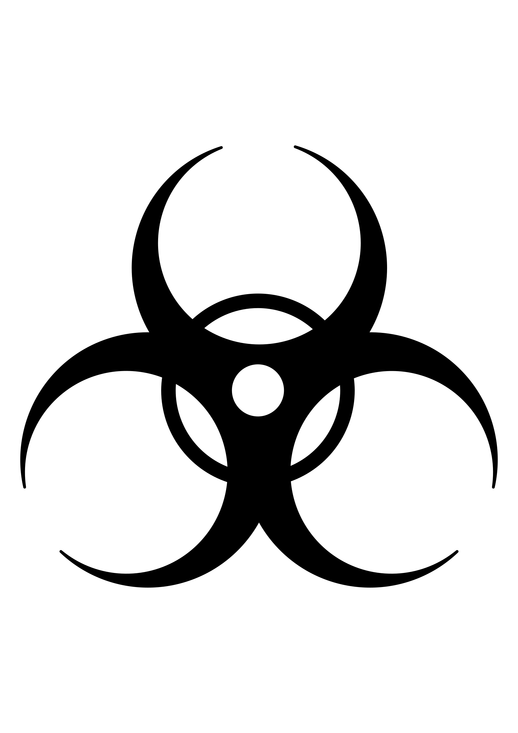 Biohazard Symbol PNG - 8698
