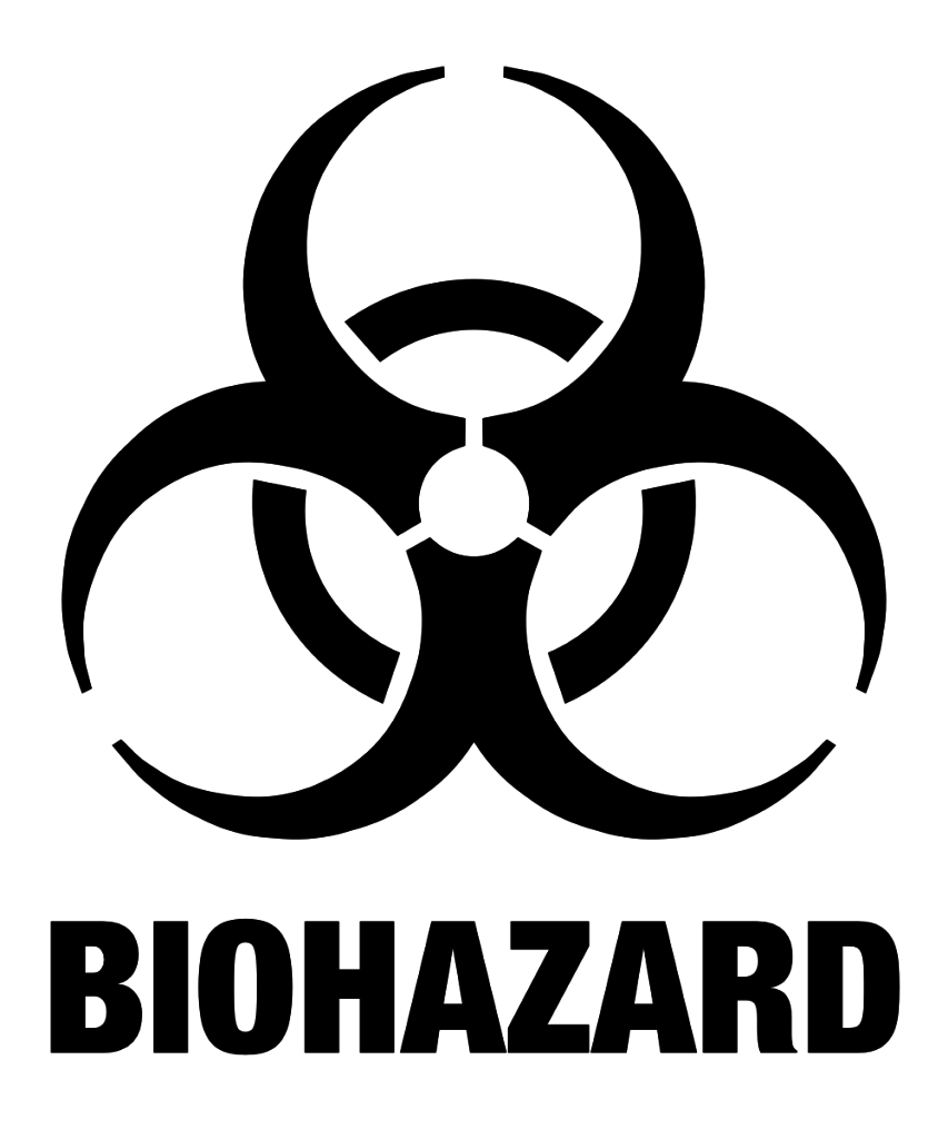 Biohazard Symbol PNG - 8692