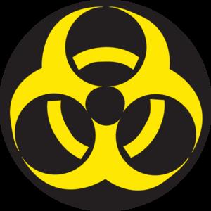 Biohazard Symbol PNG - 8699