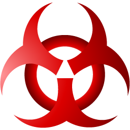 Biohazard Symbol PNG - 8690