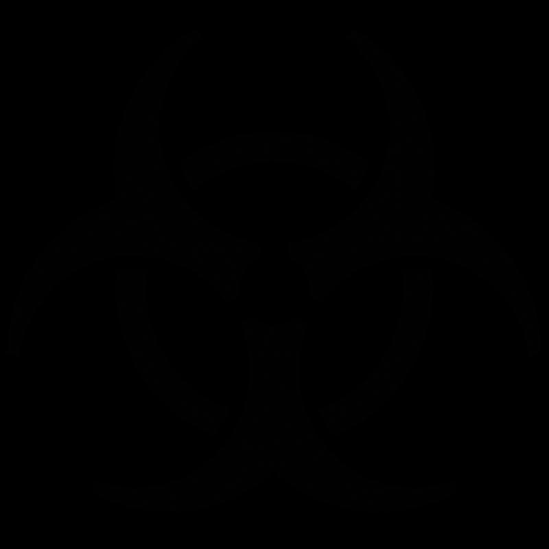 Biohazard Symbol PNG - 8685