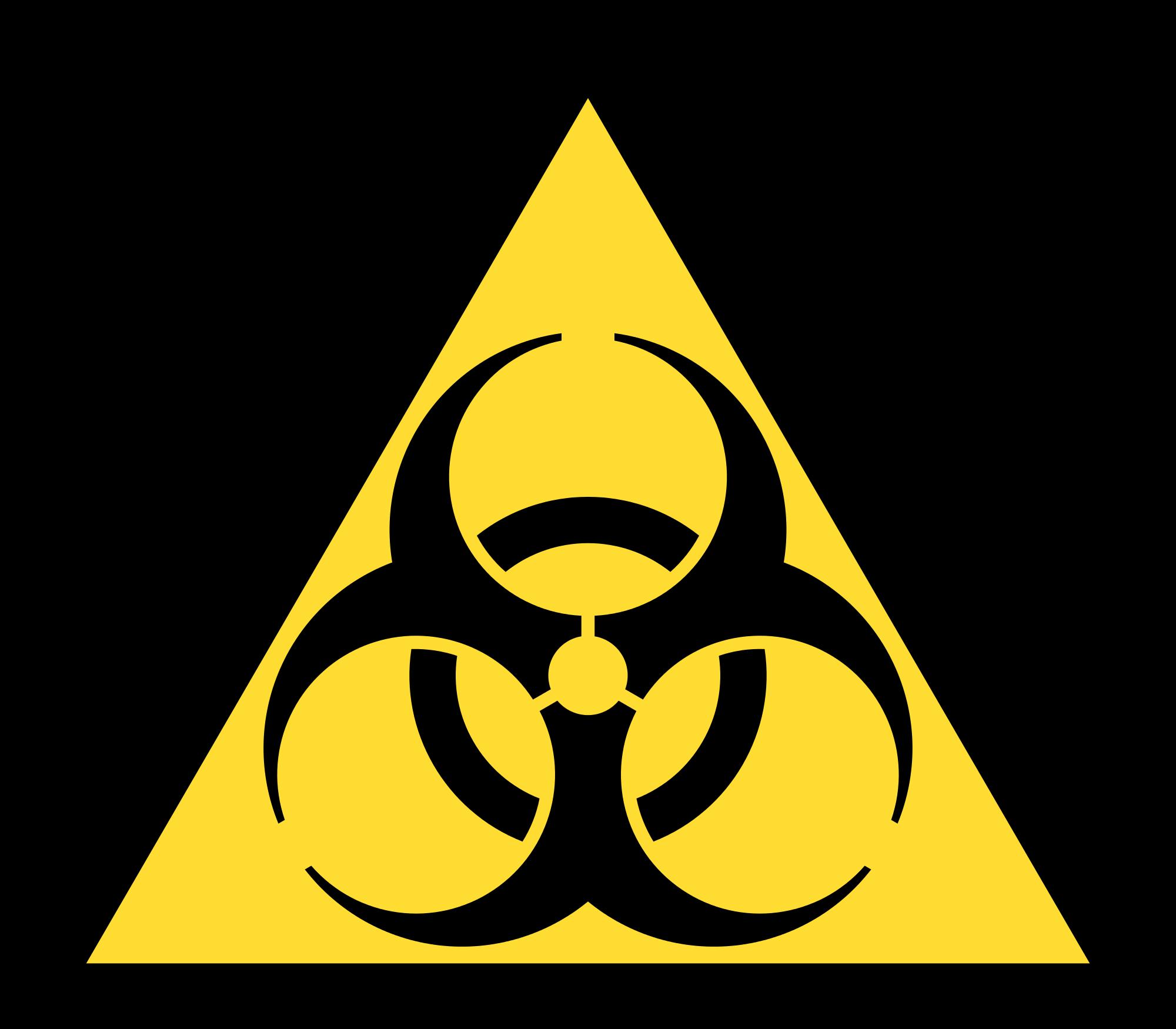 Biohazard Symbol PNG - 8684