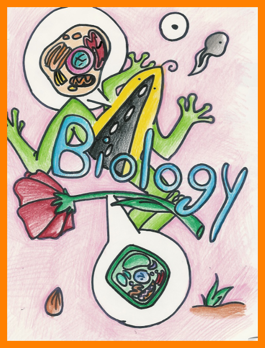 Biology Cover Page PNG - 62663