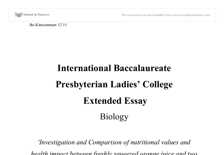 Document image preview - Biology Cover Page PNG
