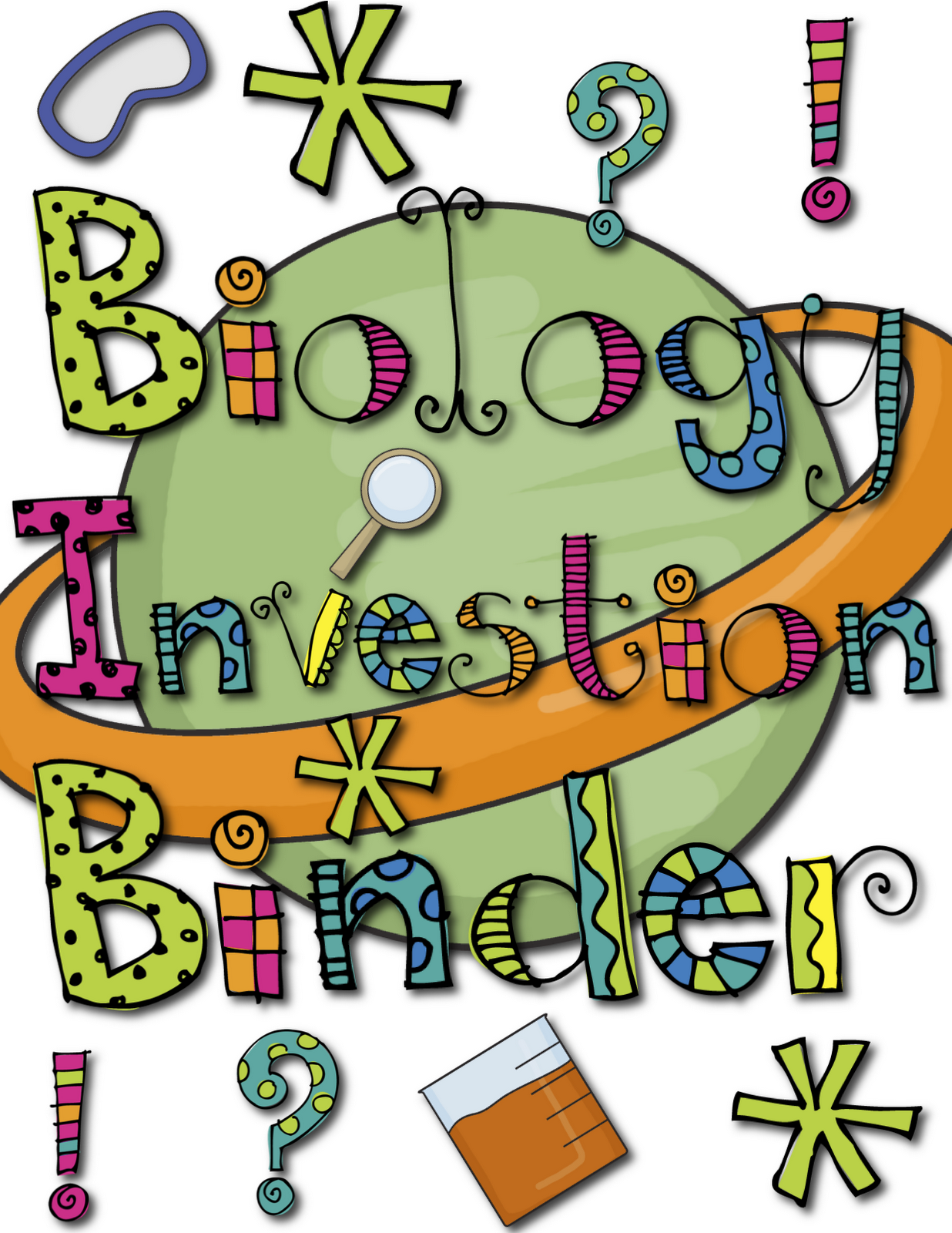 Biology Cover Page PNG - 62661