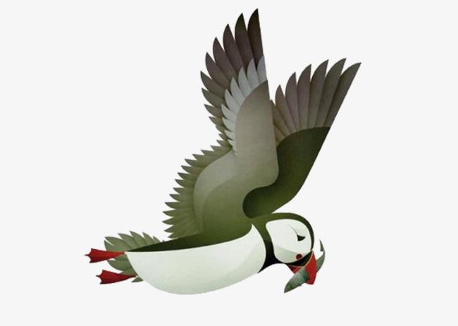 Diao fish birds, Asuka, Fish, Wing Free PNG Image - Birds And Fish PNG