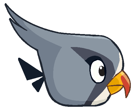 File:Silver sideways.png - Birds And Fish PNG