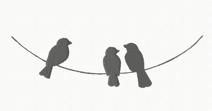 Birds On A Wire PNG - 41738