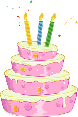 Free Clipart Birthday Cake Wi