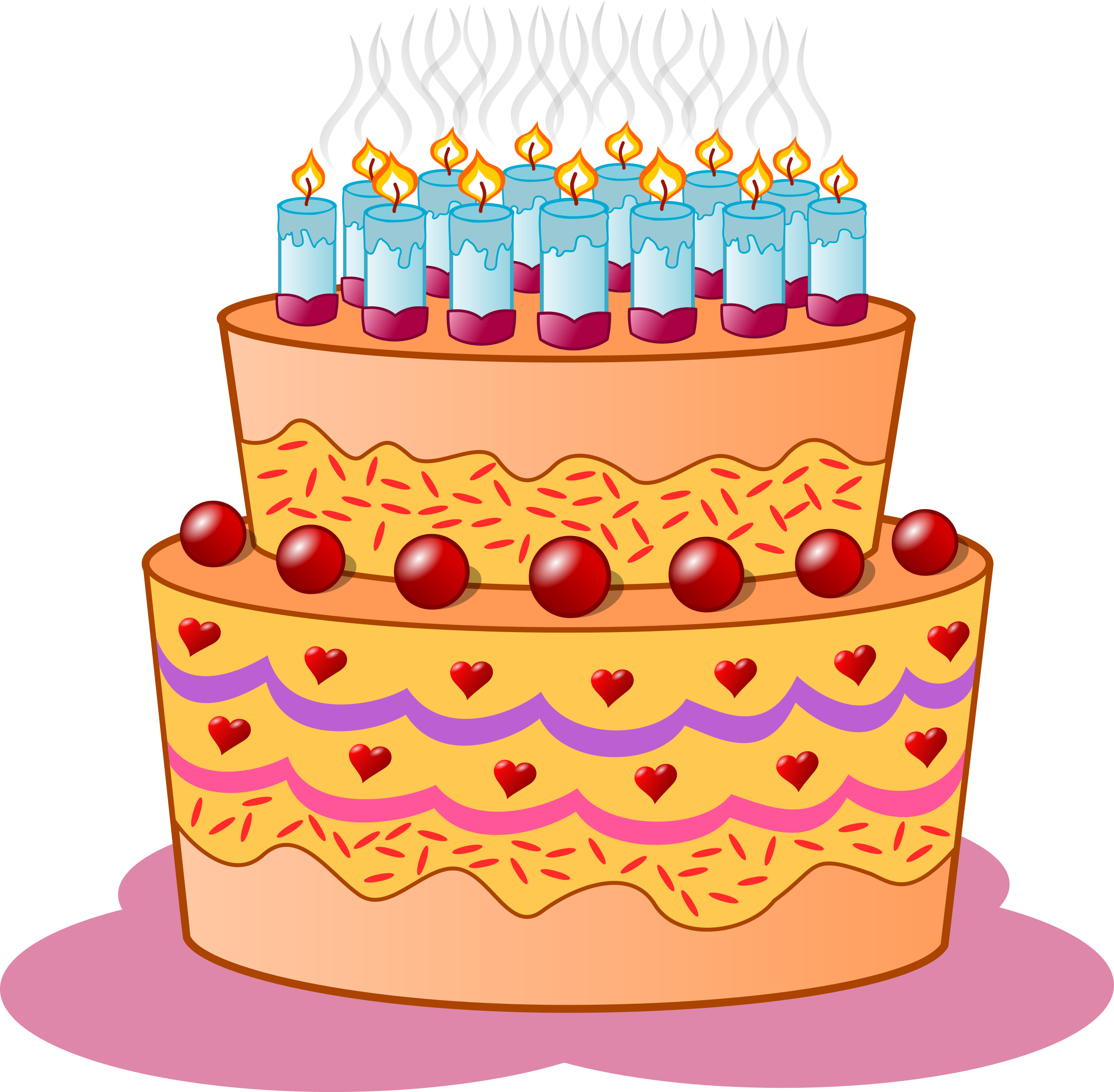 Birthday Cake Clipart Png Transparent Birthday Cake Clipart Png