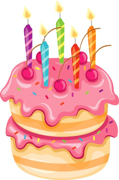 Birthday Cake Clip Art Png | Birthday Cakes Images - Birthday Cake Clipart PNG