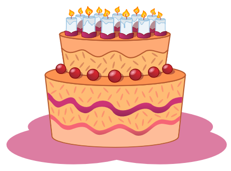 Confetti clipart birthday cake #2 - Birthday Cake Clipart PNG