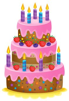 Happy Belated Birthday Greetings Wishes Cake Clipart Food