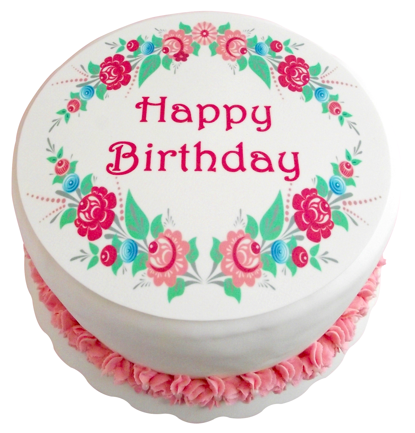 Birthday Cake PNG-PlusPNG.com-1320 - Birthday Cake PNG