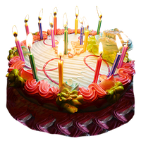 Birthday Cake PNG - 13802