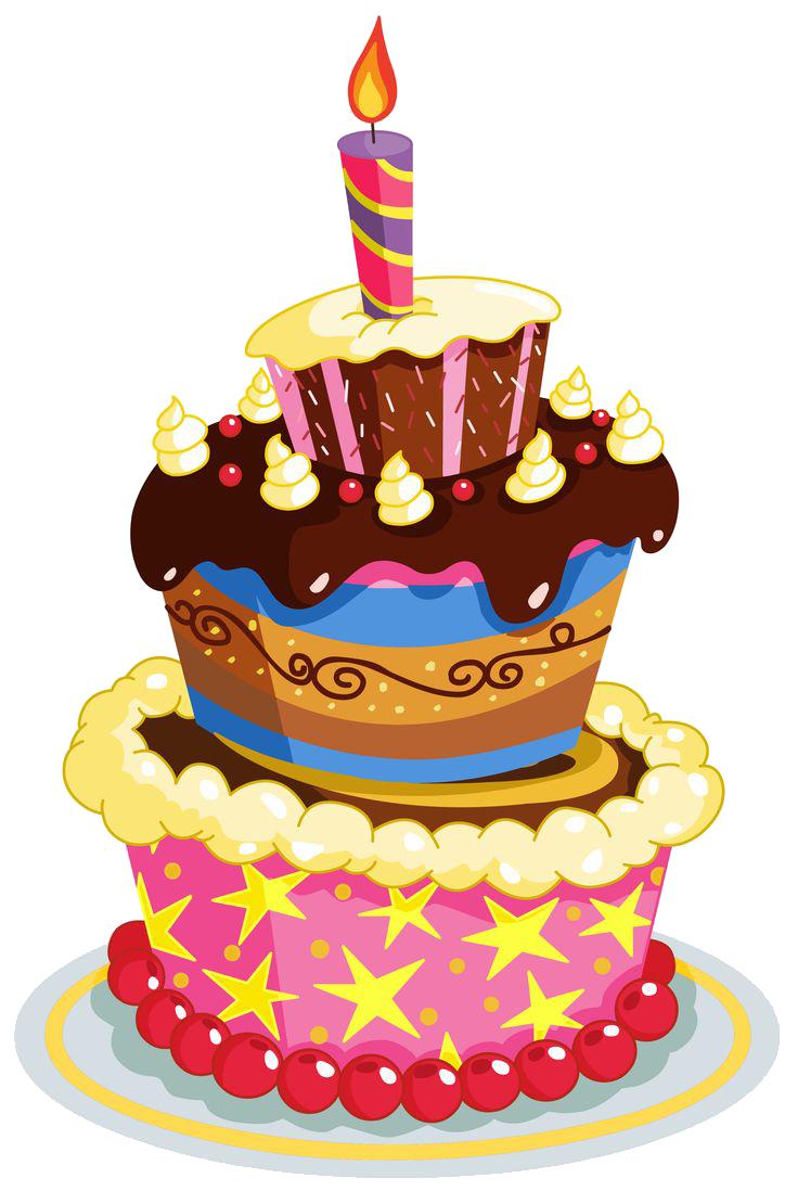 Birthday Cake PNG - 13788