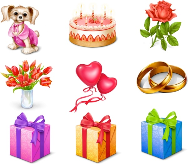 Free Gift Icons icons pack - Birthday Cake PNG