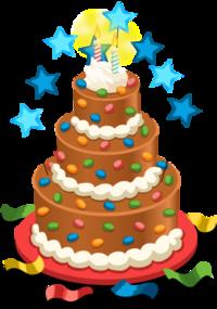 Birthday Cake PNG - 13804
