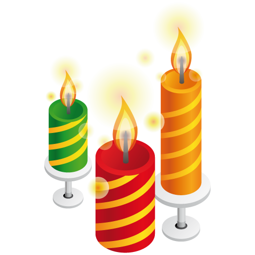 Birthday Candles PNG - 176