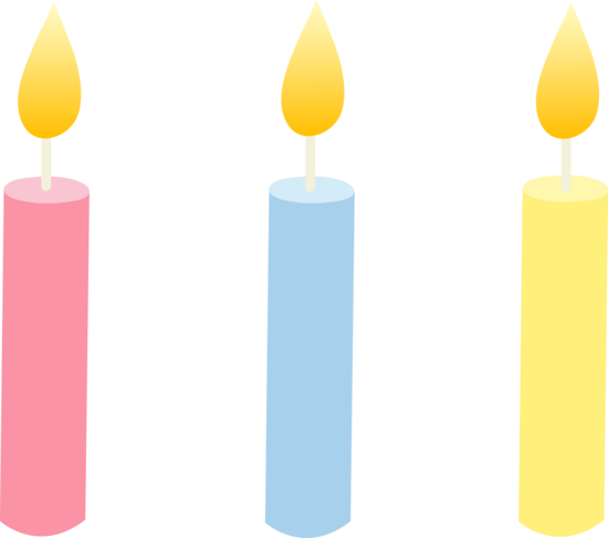 Birthday Candles PNG - 178