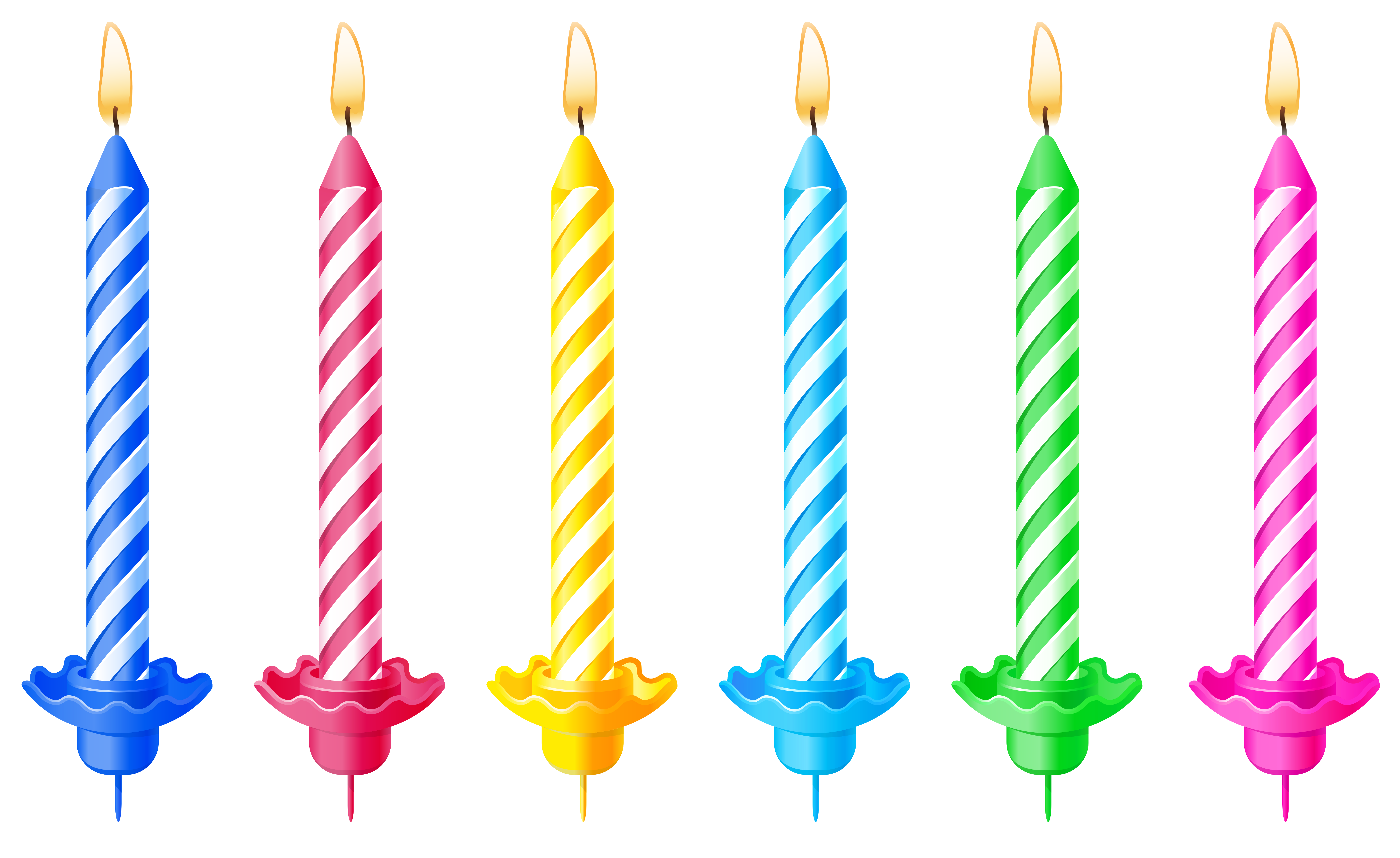 Birthday Candles PNG - 169