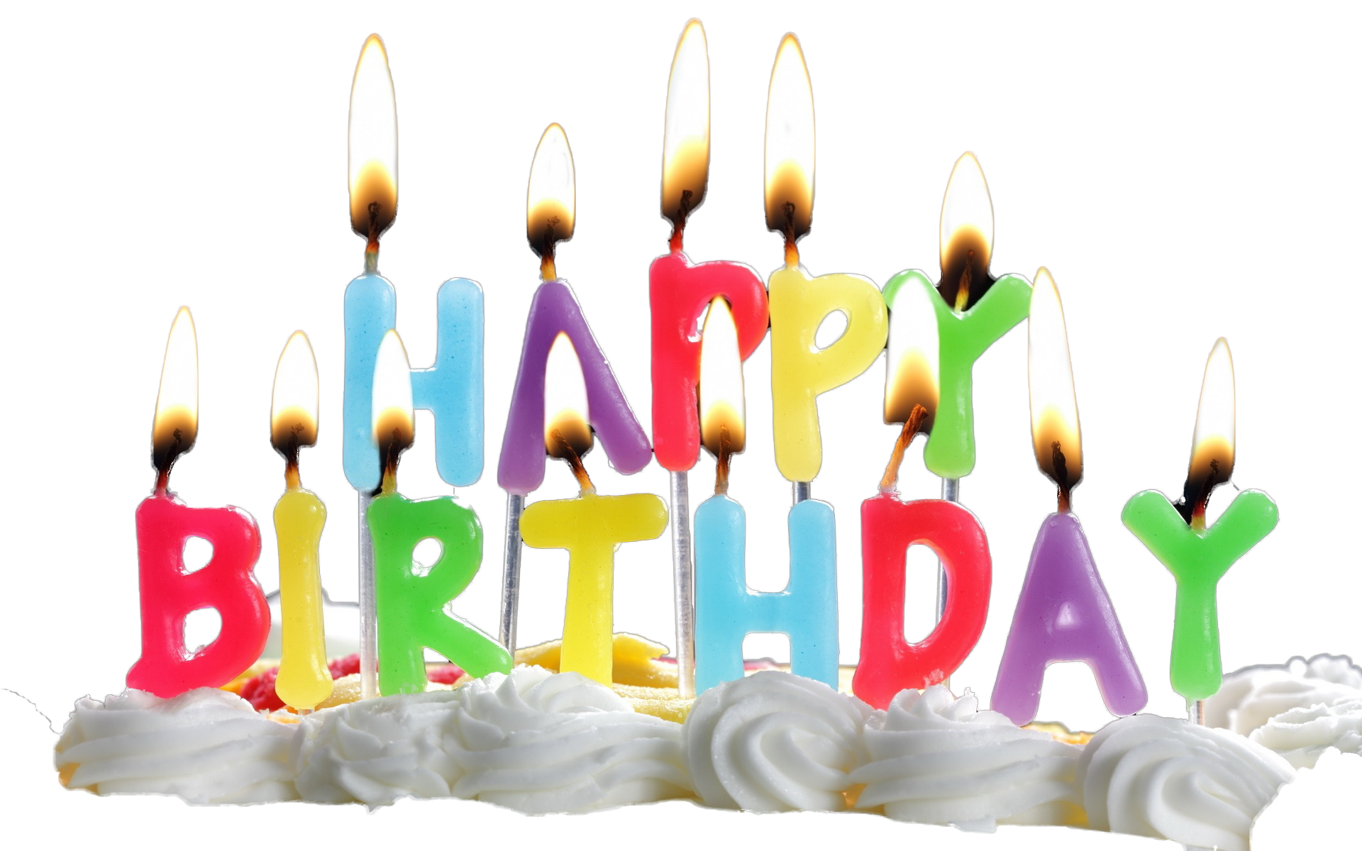 Birthday Candles Transparent PNG Image - Birthday Candles PNG