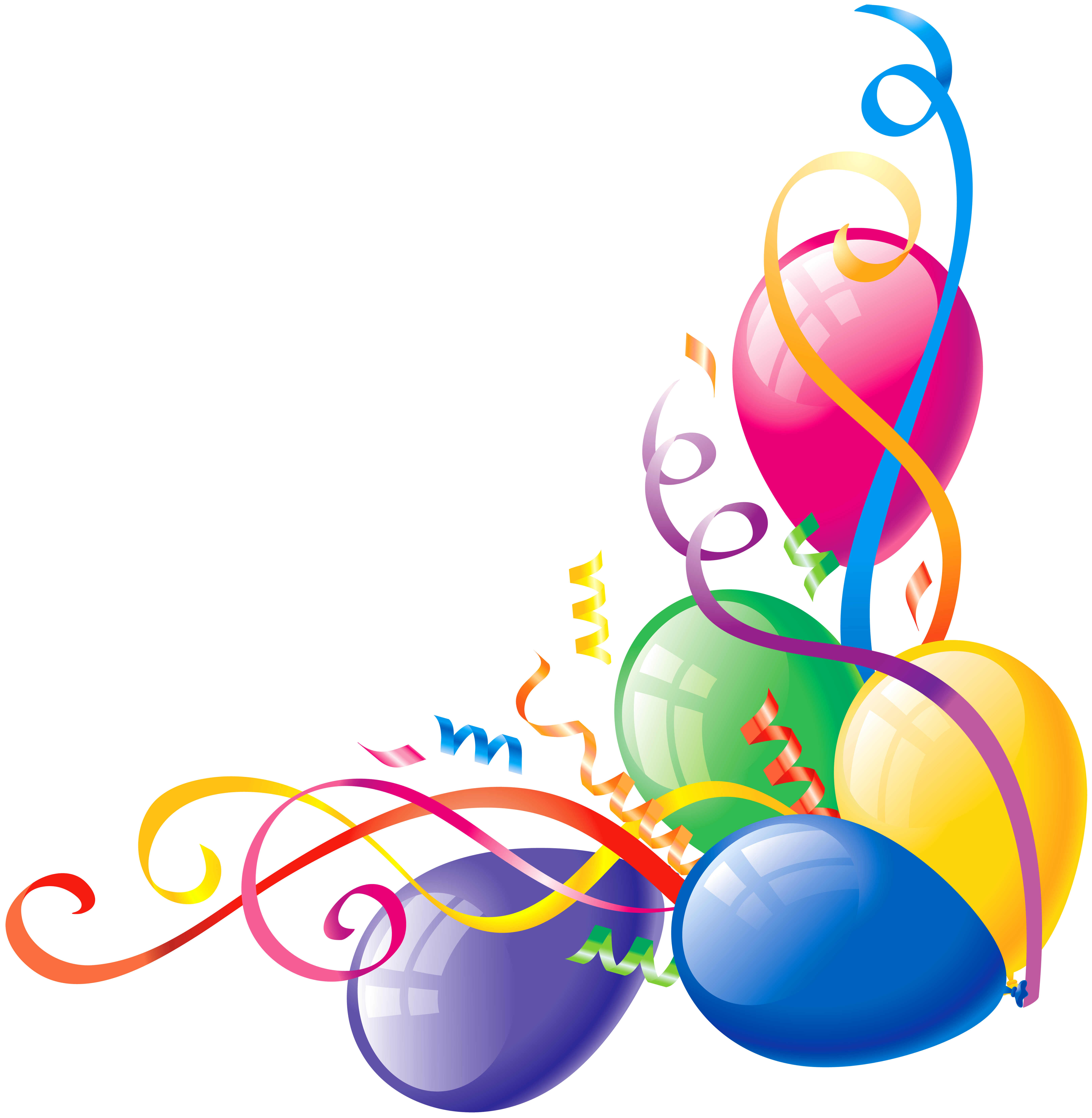 Birthday Balloon Png - Clipart library - Birthday Clipart PNG