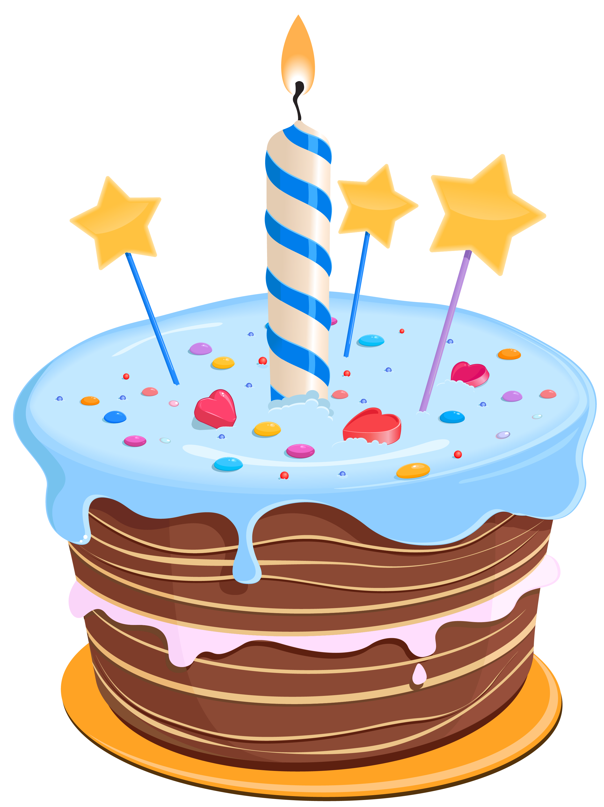 Birthday Cake Png Clipart PNG Image - Birthday Clipart PNG