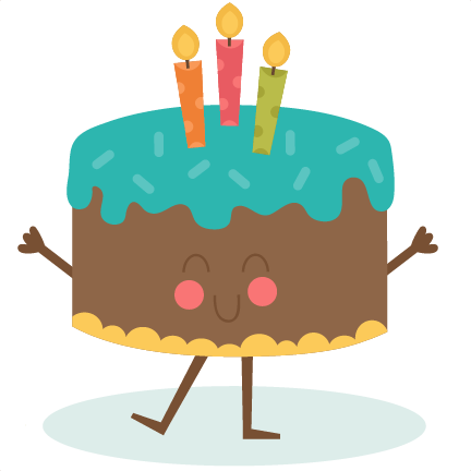 Happy Birthday Cake SVG scrapbook birthday svg cut files birthday svg files  free svgs free svg cuts - Birthday Cute PNG