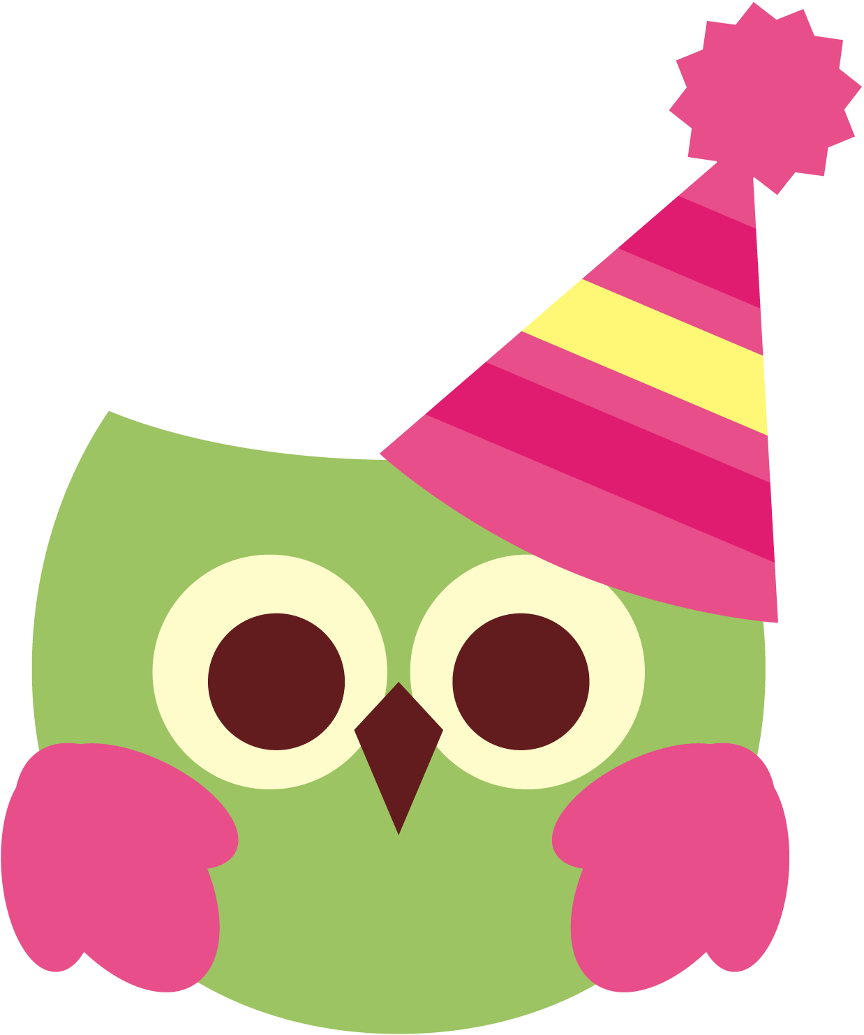 revideviBirthdayOwl - Birthday Cute PNG