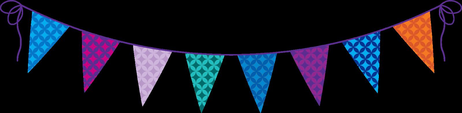 Birthday Flag PNG - 158111