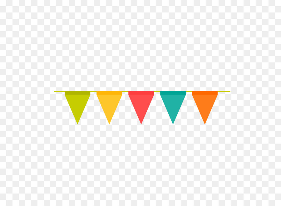 Birthday Flag PNG - 158119