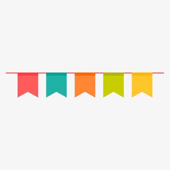 Birthday Flag PNG - 158112