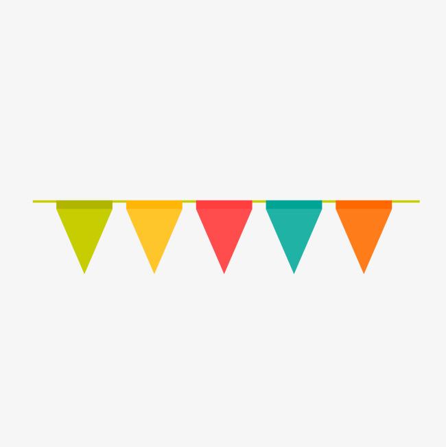 Birthday Flag PNG - 158105