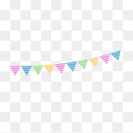 birthday party decoration hanging flag vector png, Cartoon, Birthday Party,  Happy Birthday PNG - Birthday Flag PNG