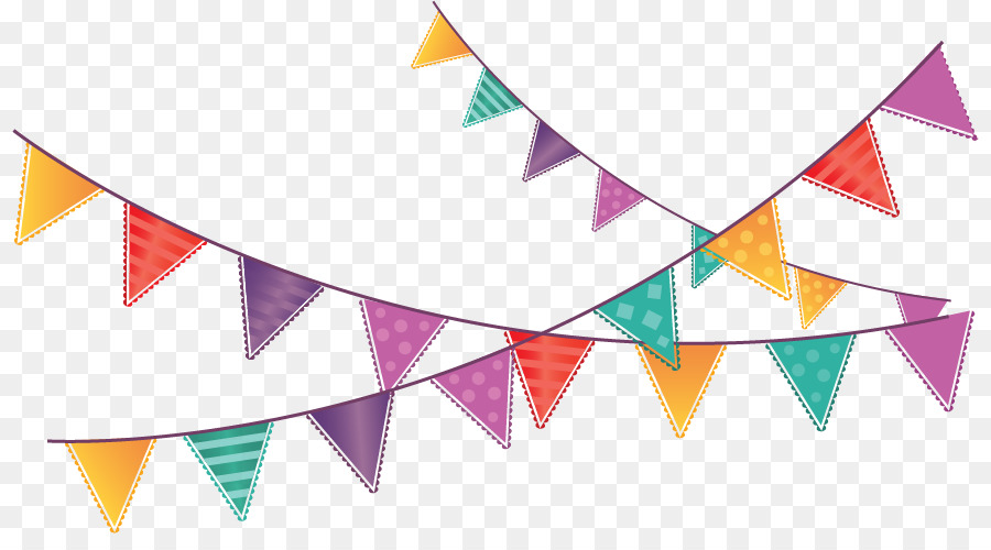Flag Birthday - Flags hanging flags - Birthday Flag PNG