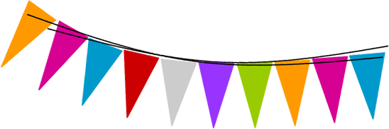flags hdr-partypackages - Birthday Flag PNG
