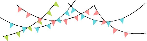 Birthday Flag PNG - 158106