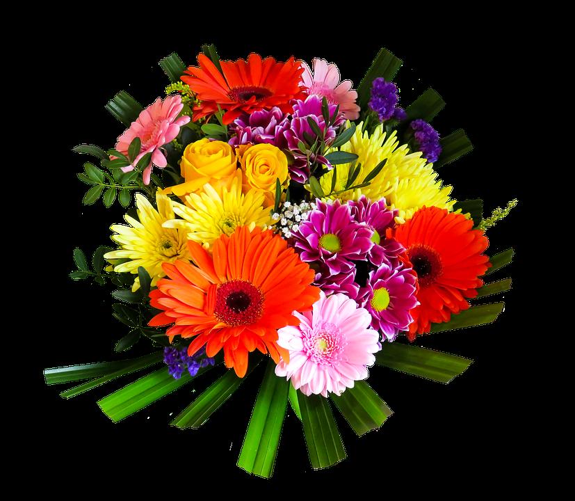 Birthday Flowers PNG HD - 142165