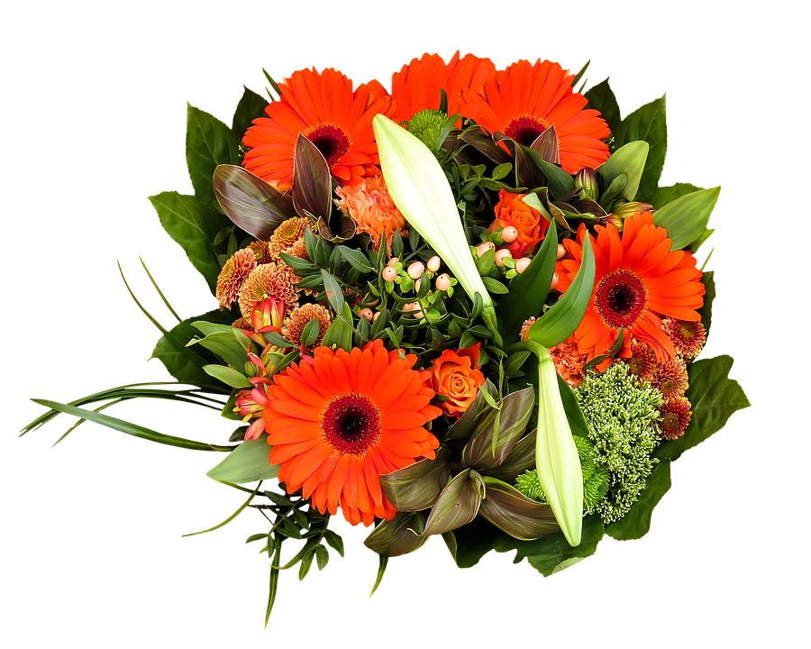 birthday bouquet bouquet png isolated flowers - Birthday Flowers PNG HD