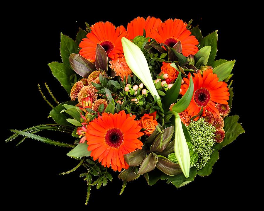 Birthday Flowers PNG HD - 142160