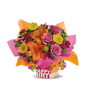 Birthday Flowers Bouquet Clipart PNG Image - Birthday Flowers PNG HD