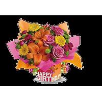 Birthday Flowers PNG HD - 142168