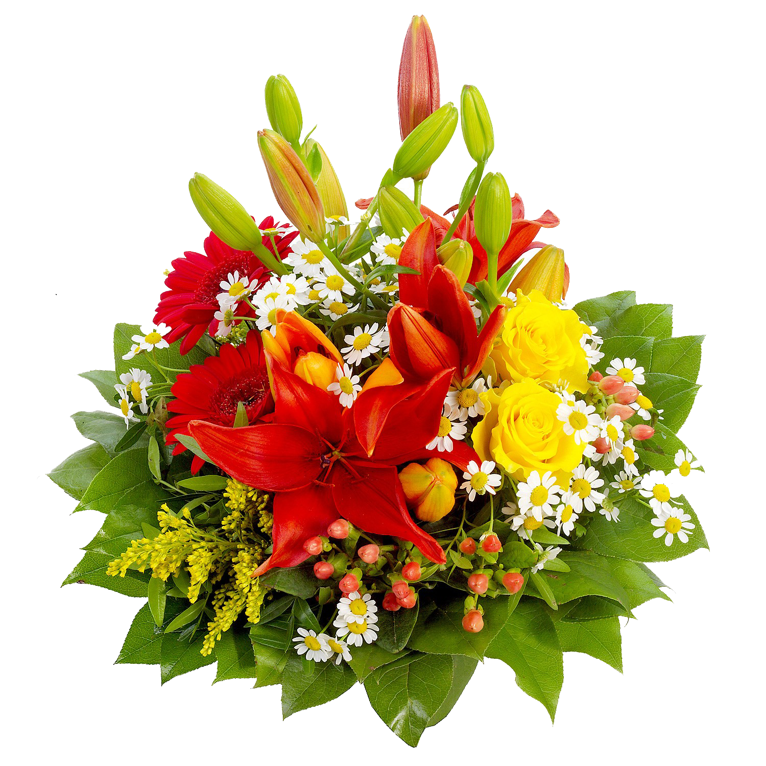 Birthday Flowers PNG HD