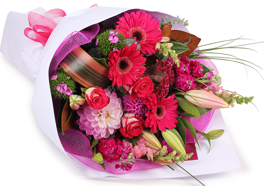 Birthday Flowers Bouquet Transparent PNG - Birthday Flowers PNG HD