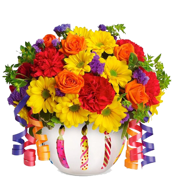 Bouquet,Flowers Transparent PNG Sticker. Bouquet PlusPng.com  - Birthday Flowers PNG HD